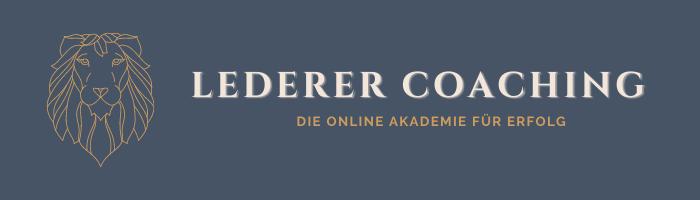 Logo Lederer Coaching, Manfred Peter Lederer, Mentaltrainer Schweinfurt,